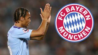 Leroy Sane Manchester City Bayern