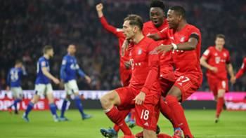 Bayern Goal Celebration vs Schalke 01262020