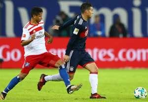 James Rodriguez Bayern Munich Bundesliga 21102017