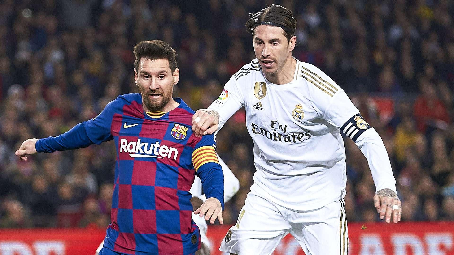 Барселона реал мадрид гол рамоса