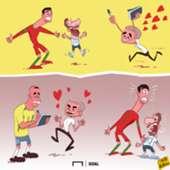 Cartoon - Mourinho Love Ronaldo More Than CR7 & Messi