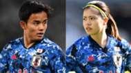Japan-Olympic-Takefusa Kubo-Yui Hasegawa.jpg