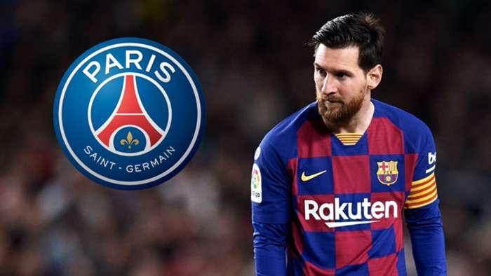 Lionel Messi/PSG composite