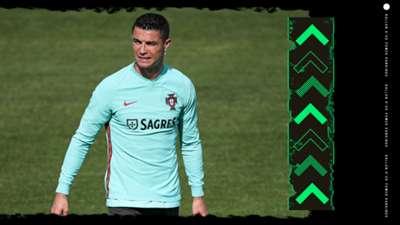 Cristiano Ronaldo Ballon d'Or Rankings GFX