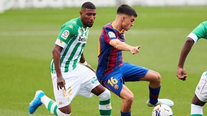 Emerson Royal Betis FC Barcelona La Liga