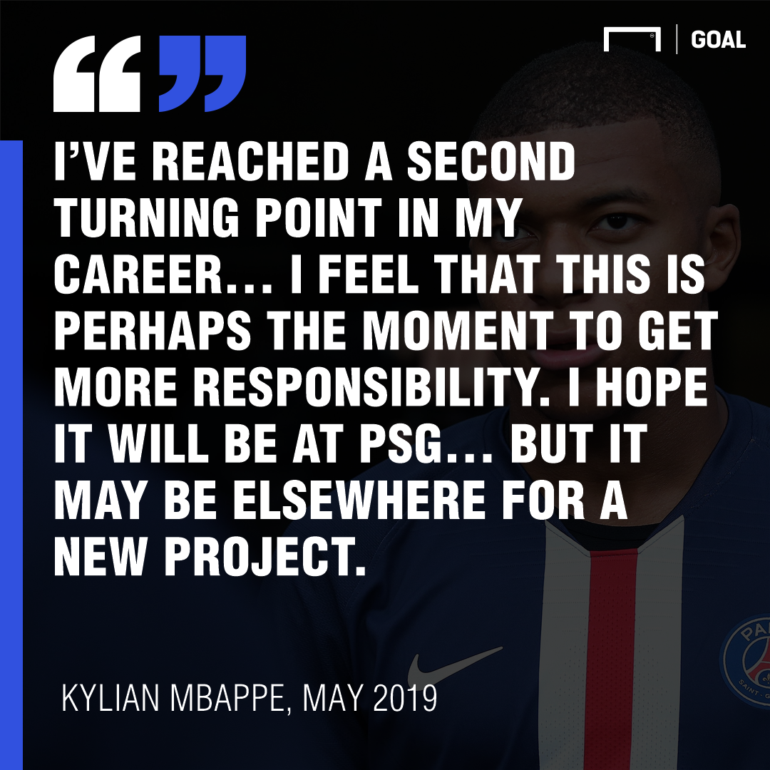 Kylian Mbappe quote GFX