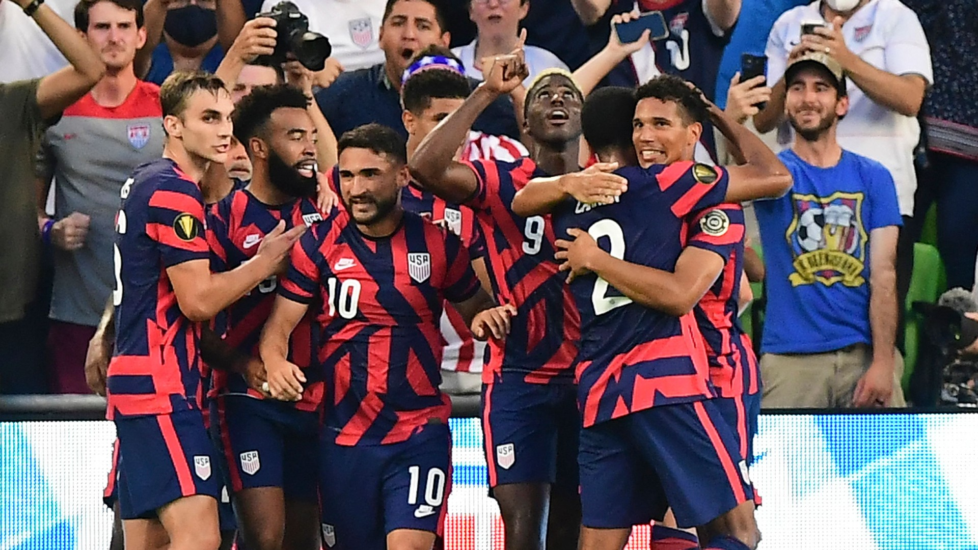 'We're not done' - Berhalter says USMNT aren't content with just reaching Gold Cup final ahead of Mexico showdown