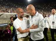 Guardiola and Zidane