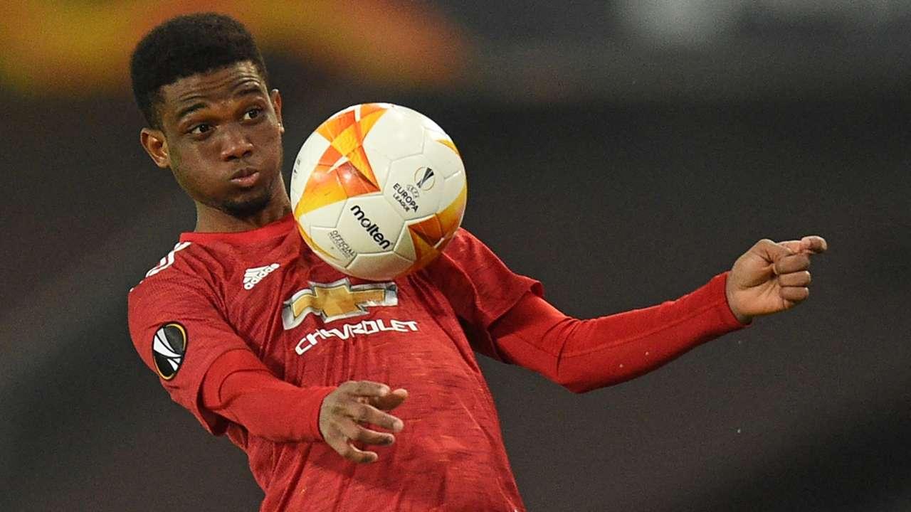Amad Diallo Manchester United 2020-21