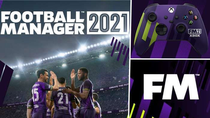 Football Manager 2021 FM21 split