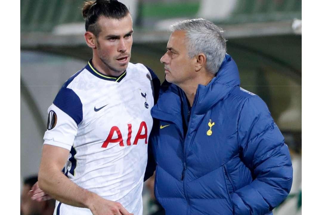 Gareth Bale Jose Mourinho Tottenham GFX