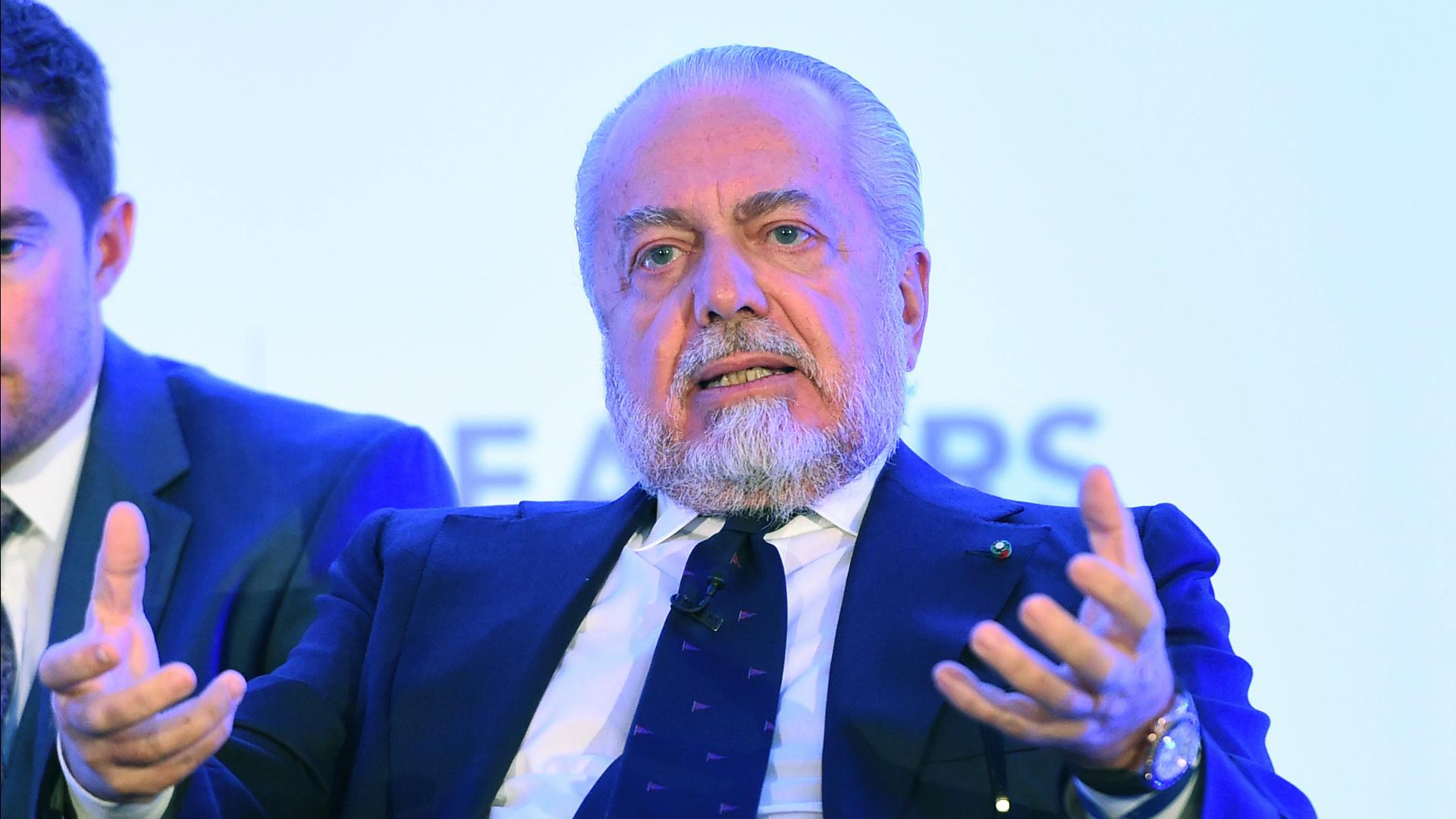 Aurelio De Laurentiis Napoli chairman