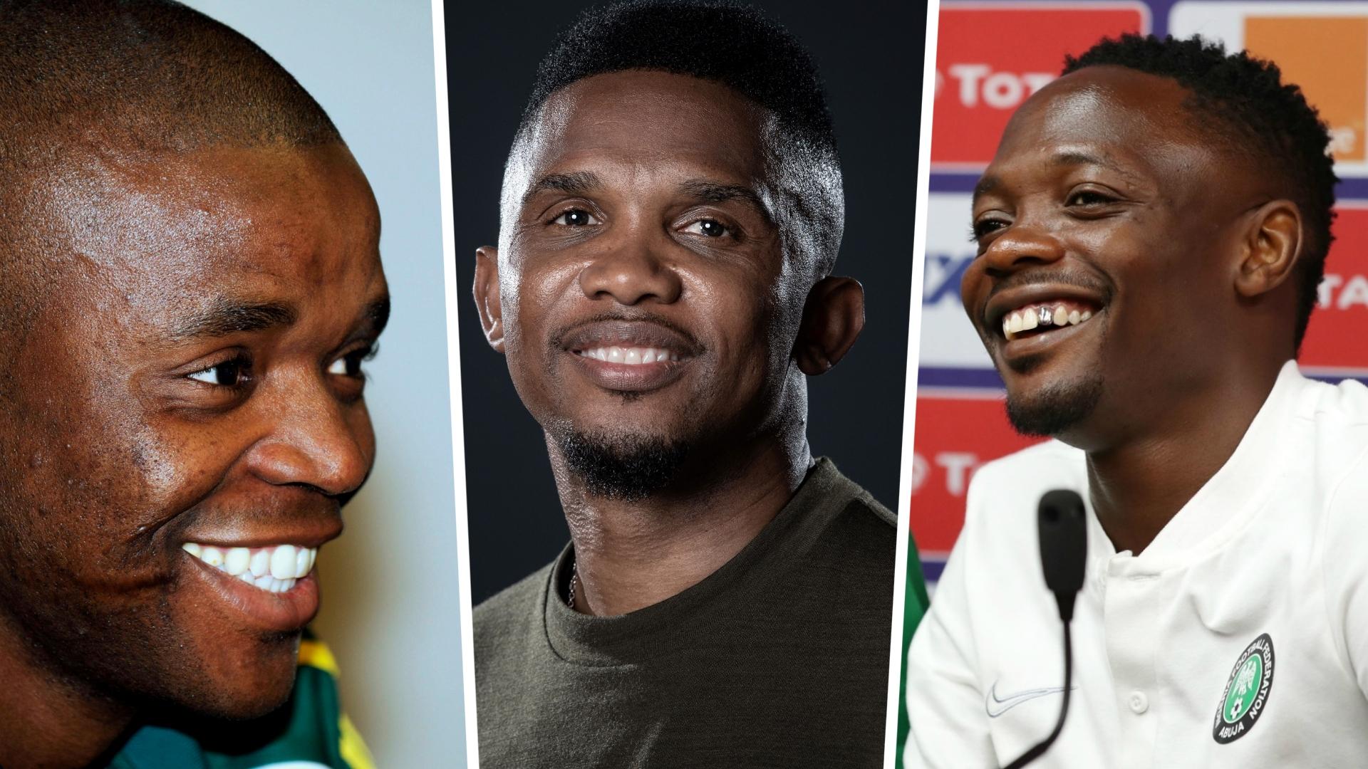 Musa, Eto'o, Toure, Mokoena and the African centurions