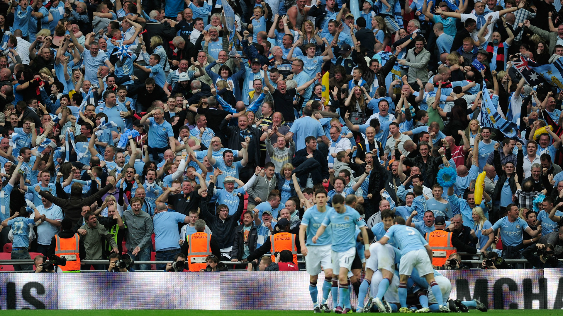 Manchester City FA Cup 2011