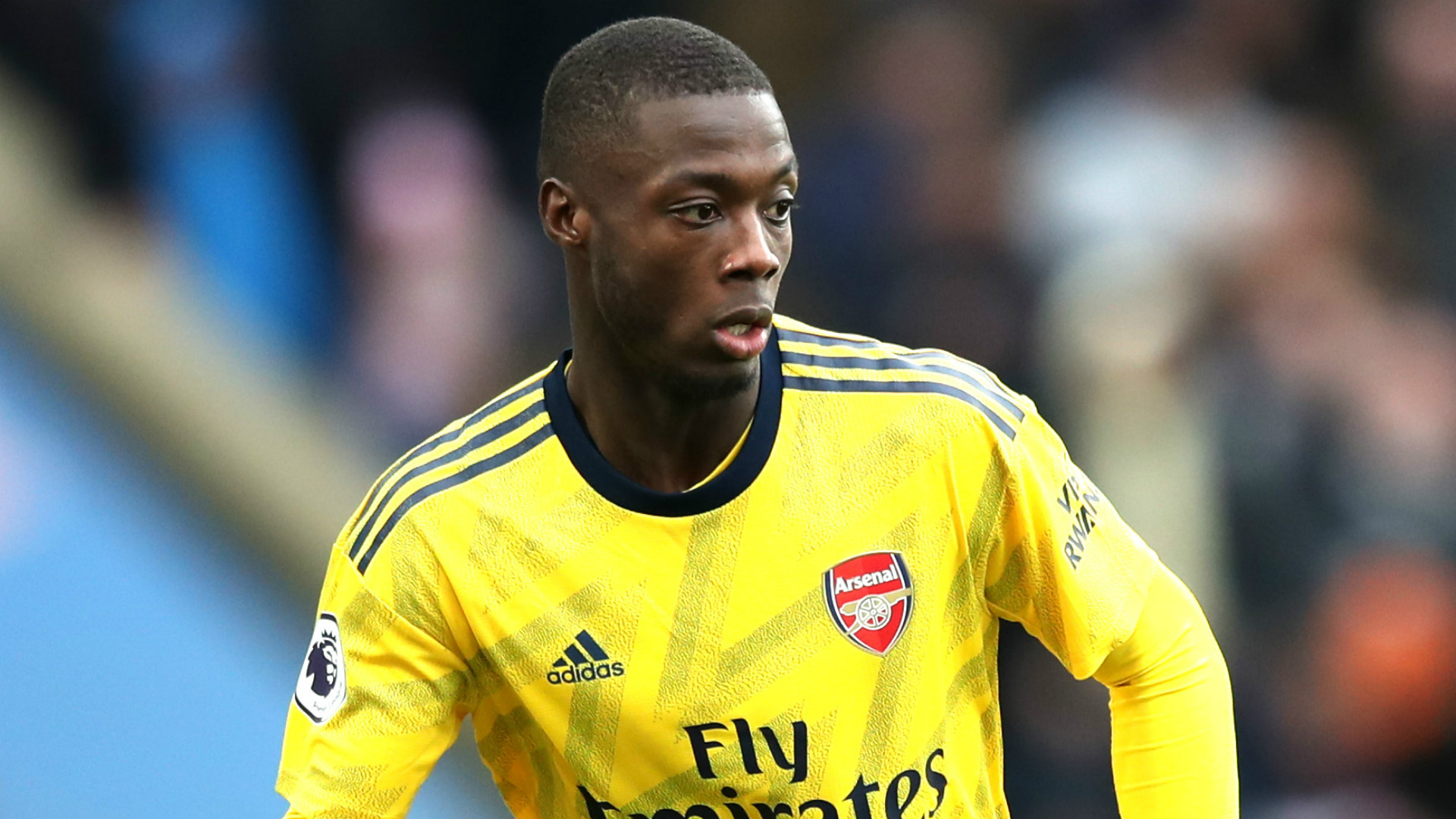 Arsenal's Nicolas Pepe 'needed time to adapt' - Unai Emery ...