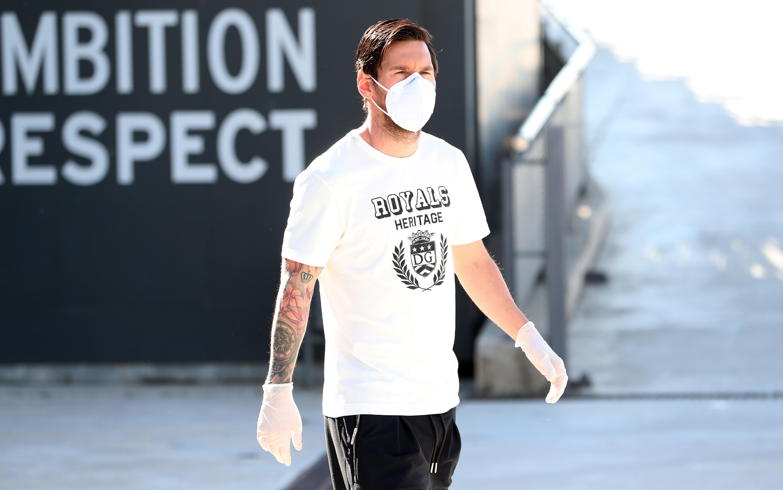 Lionel Messi testé au coronavirus — Espagne