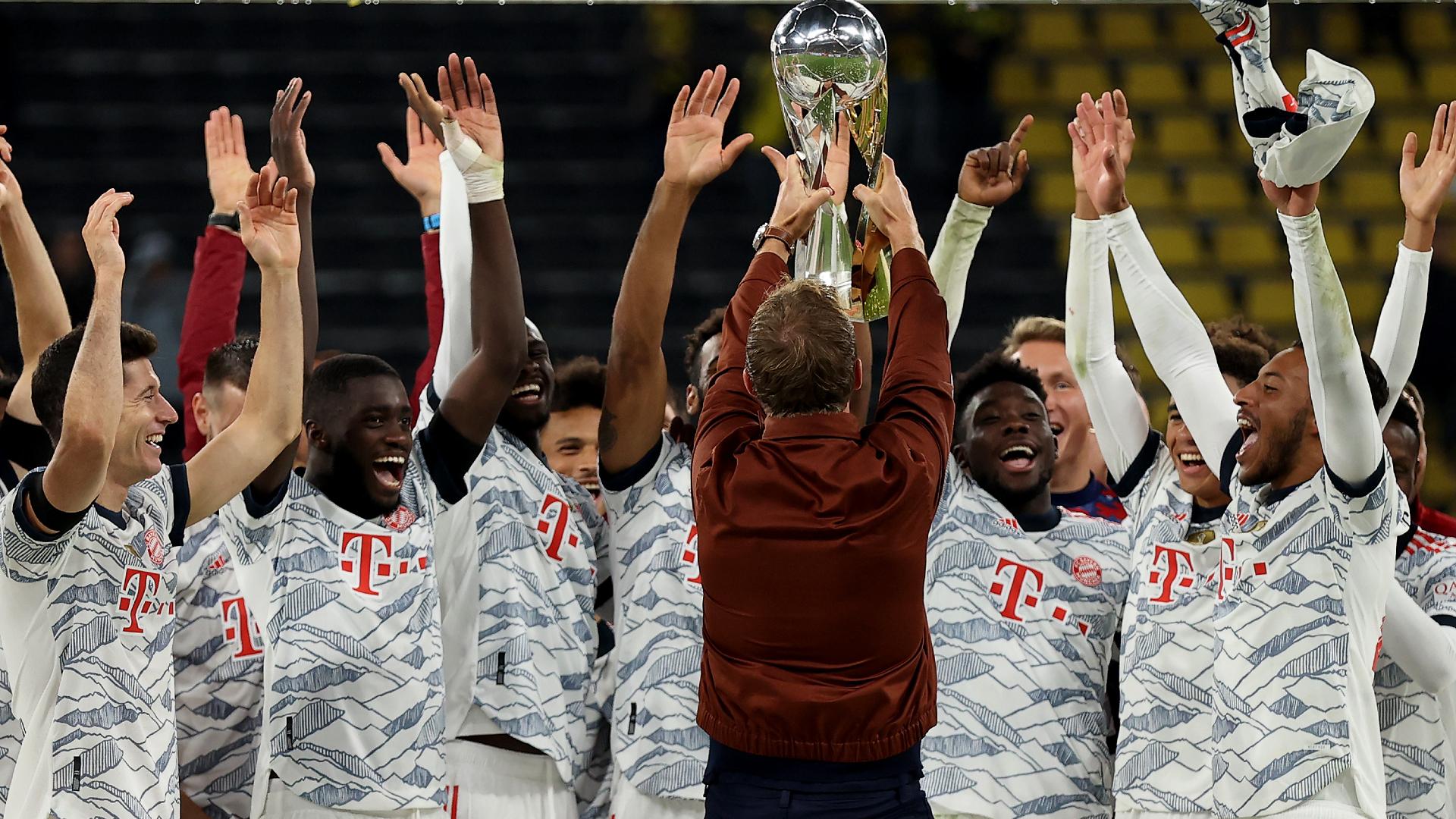 Nagelsmann: Bayern Munich's Super Cup win doesn't belong to me