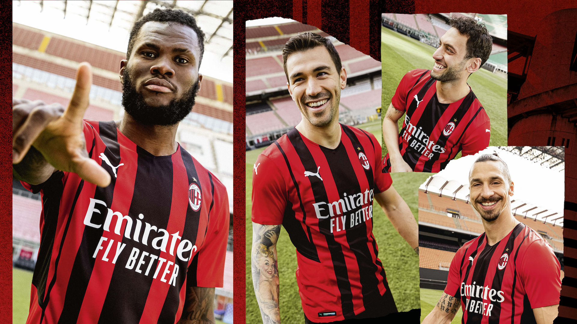 Ufficiale la nuova maglia del Milan per il 2021/22: cambia il ...