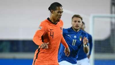 Van Dijk Immobile Italy Netherlands Nations League