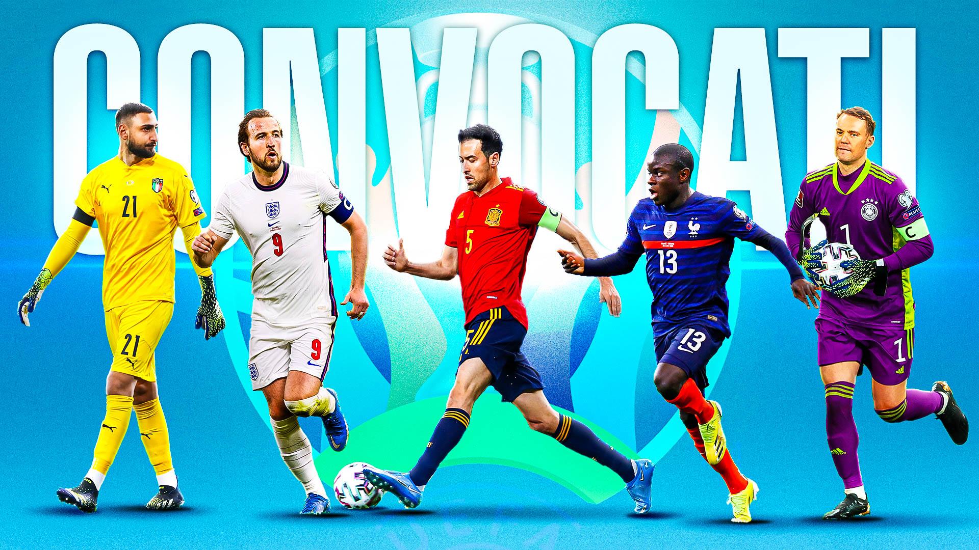 Convocati Euro 2020: le rose delle 24 Nazionali | Goal.com