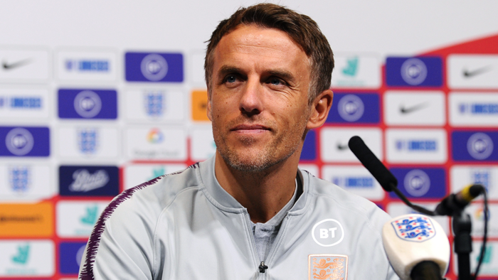 Phil Neville England 2019
