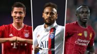 Neymar Lewandowski Mane split