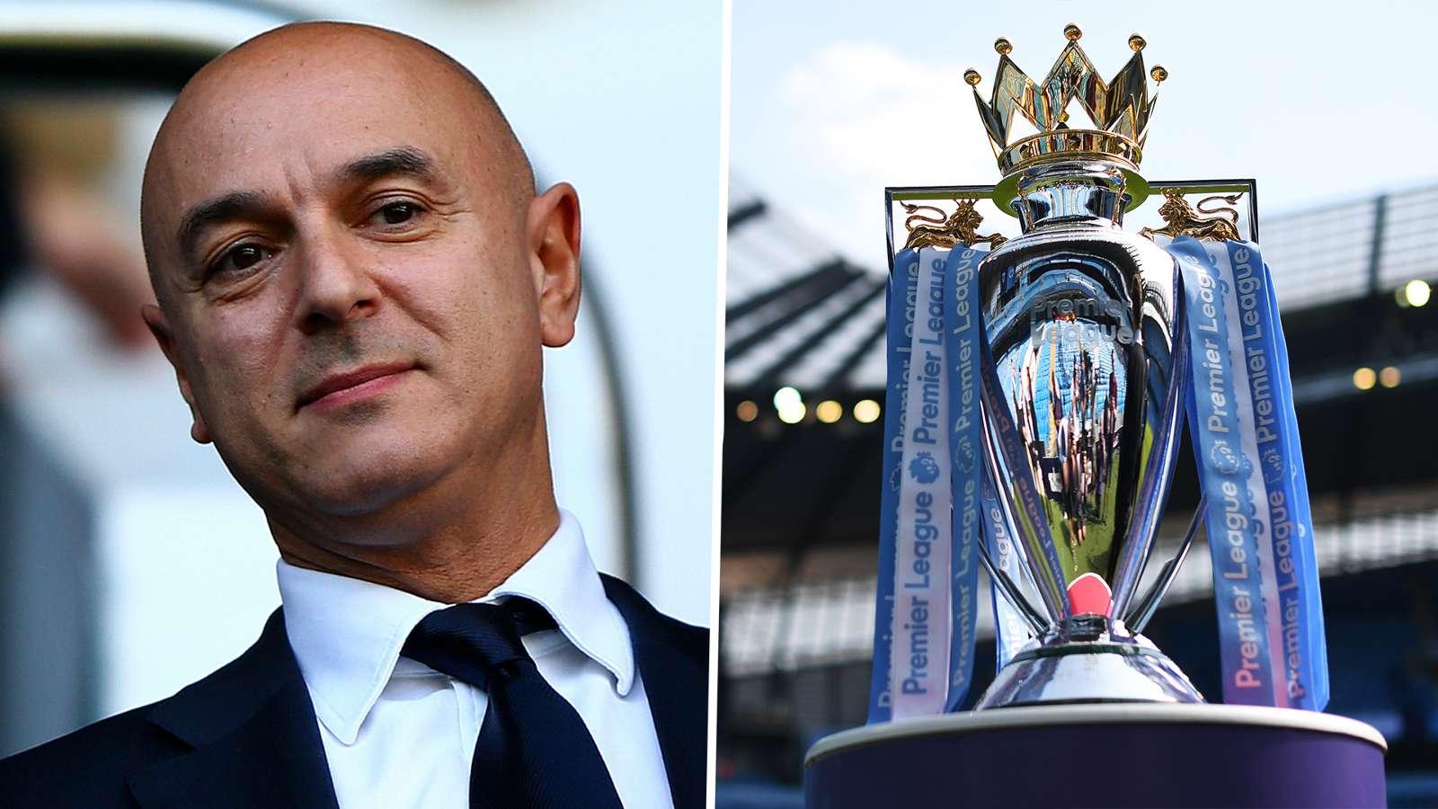 Daniel Levy, Premier League trophy