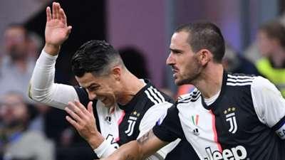 Leonardo Bonucci Cristiano Ronaldo Juventus