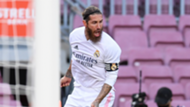 Sergio Ramos celebrates