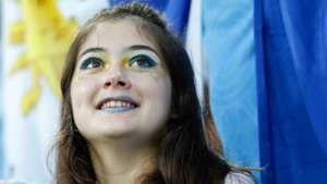 美女サポワールドカップ_ウルグアイvsポルトガル_ウルグアイ1