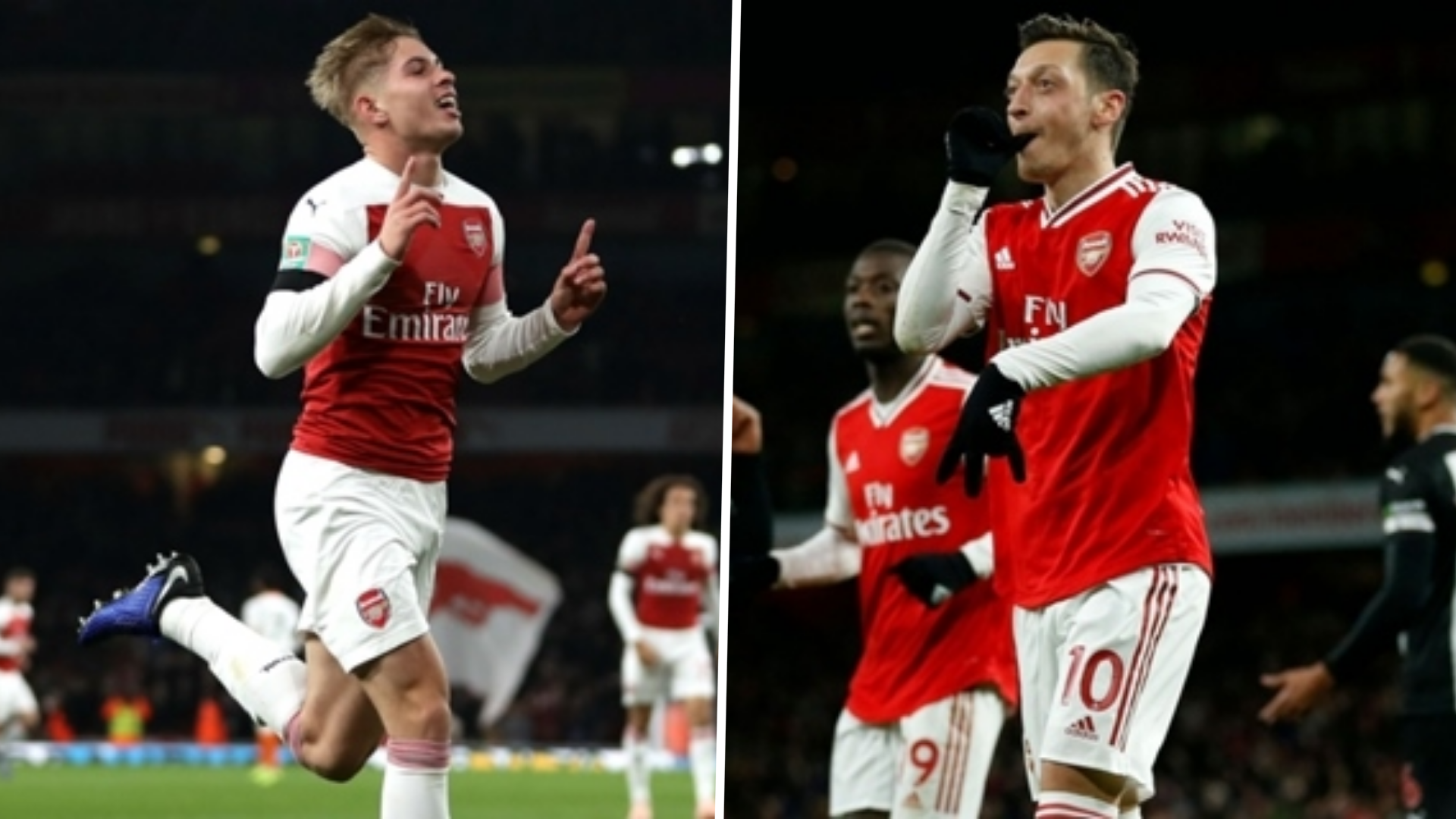 Smith Rowe Eyeing Ozil S No 10 Role As He Seeks To Join Martinelli Saka In Arsenal Side Goal Com