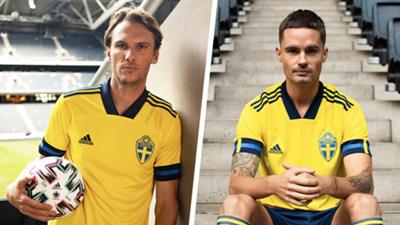 Sweden Euro 2020 home kit
