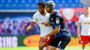 Tyler Adams Klaus Gjasula RB Leipzig SC Paderborn Bundesliga 2020