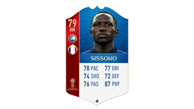 FIFA 18 World Cup France Sissoko