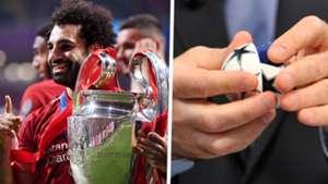 Champions League draw Mohamed Salah