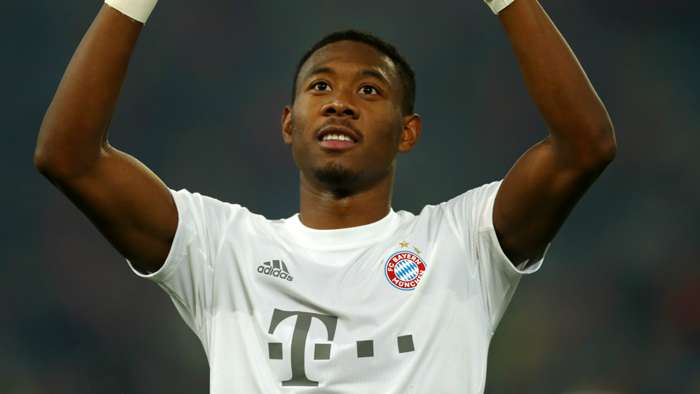 David Alaba Bayern Munich 2019-20