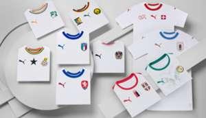 PUMA International Away Kits 2018