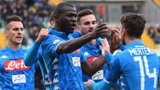 Kalidou Koulibaly Chievo Napoli Serie A
