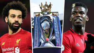 Mohamed Salah Paul Pogba Premier League 2019-20