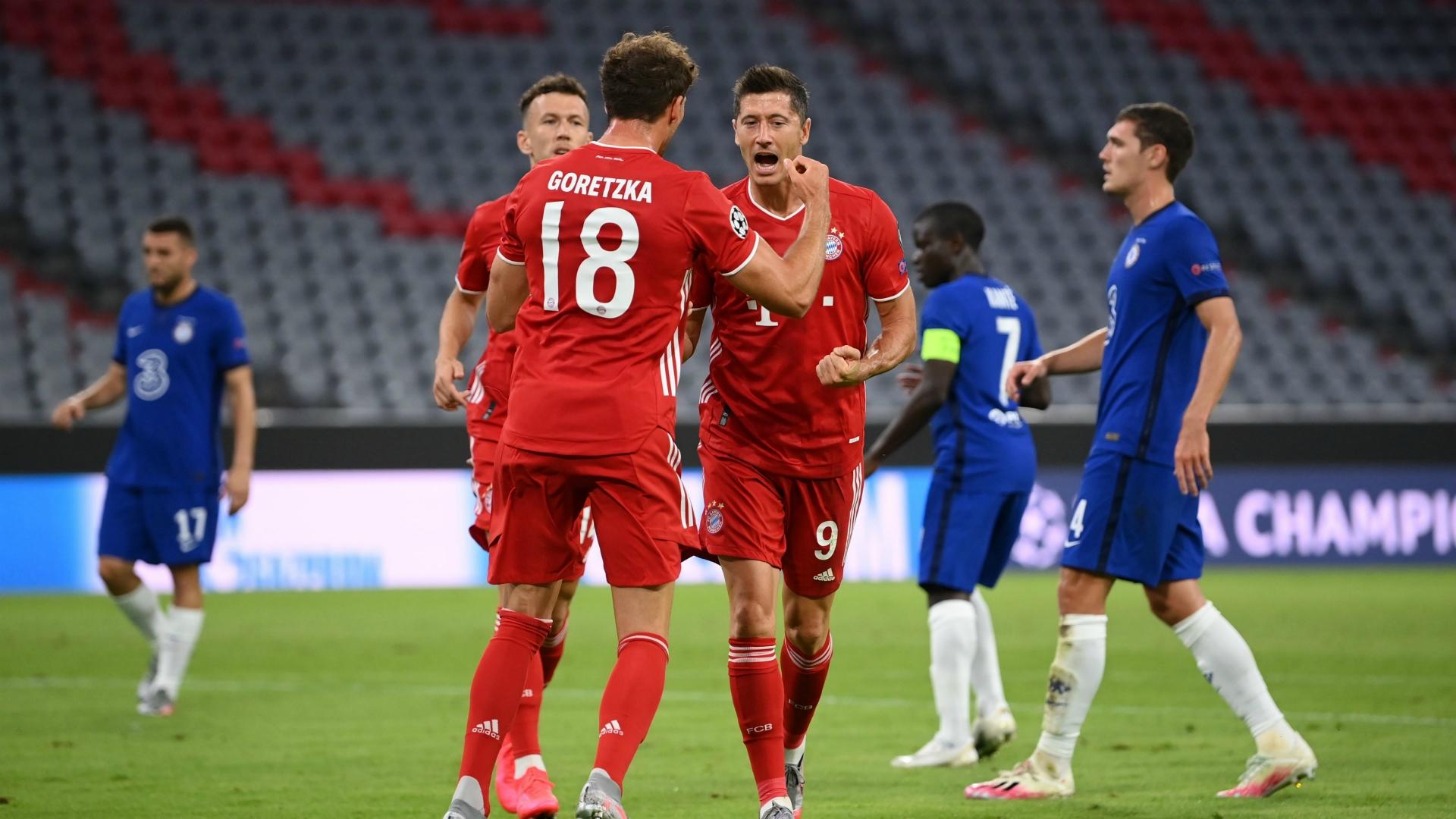 Robert Lewandowski Bayern Munich-Chelsea