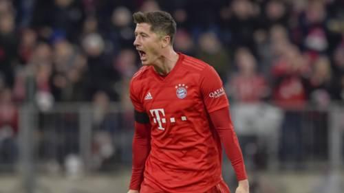 Robert Lewandowski FC Bayern München SC PAderborn 21022020