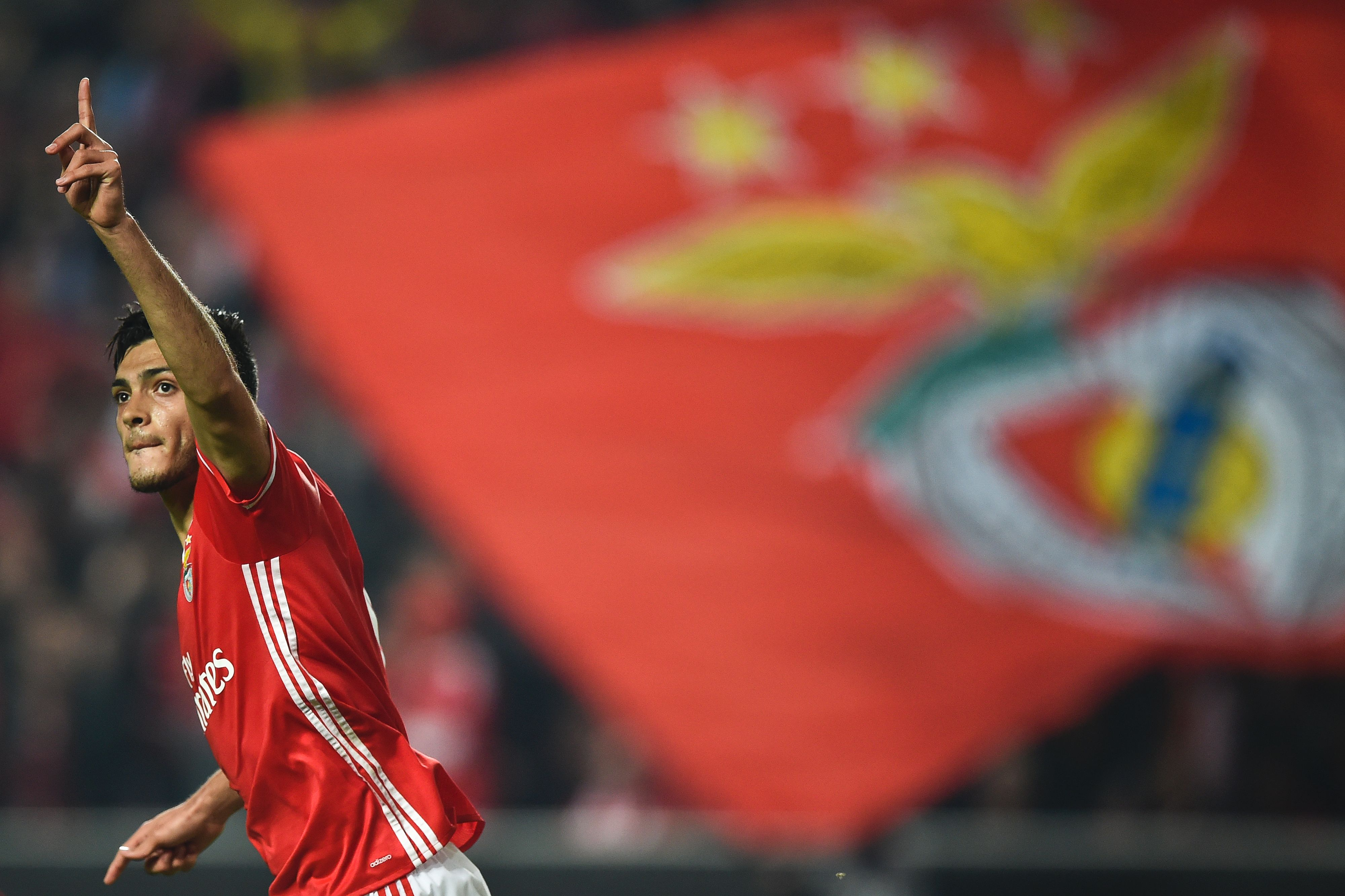 Raúl Jiménez Benfica Champions League