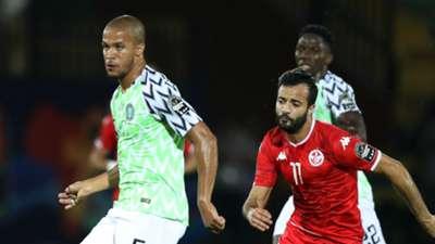 Taha Yassine, William Troost-Ekong  -Tunisia vs. Nigeria