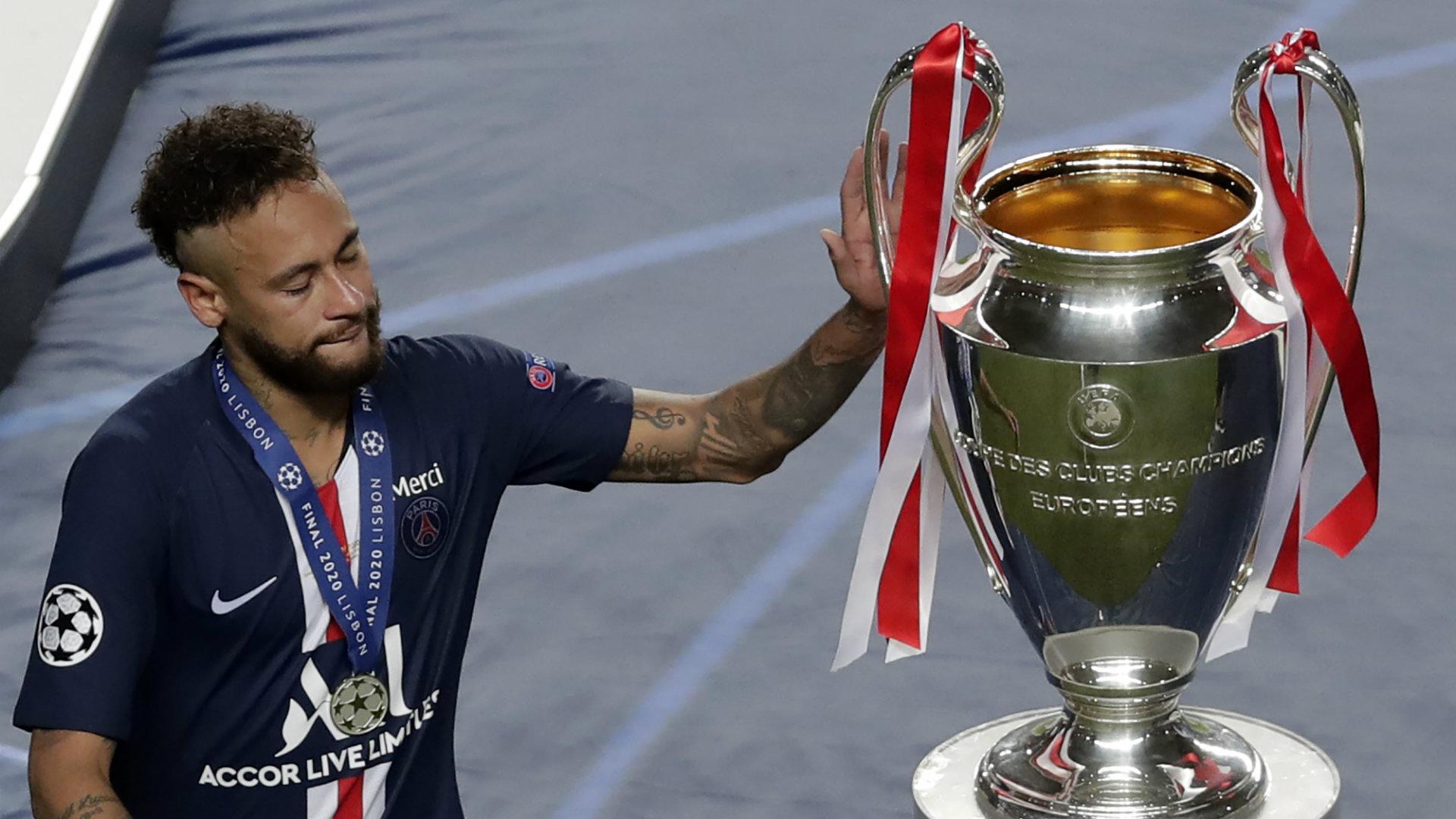 Neymar Left In Tears After Psg Suffer Champions League Final Heartbreak Goal Com