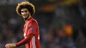 Marouane Fellaini Celta Manchester United Europa League