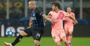 Nainggolan Inter Barcelona Champions League