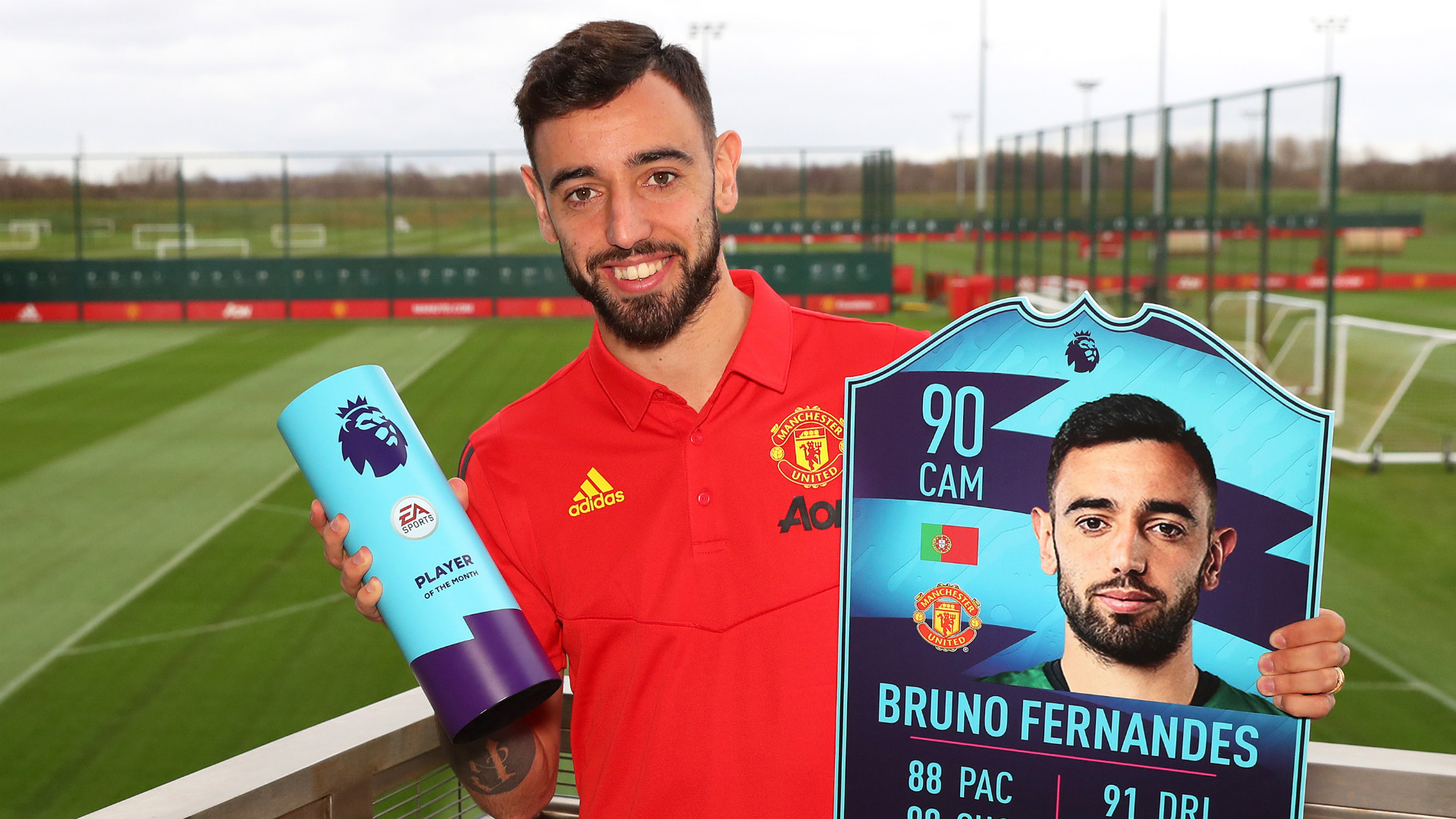 Bruno Fernandes crowns outstanding start in England with individual awards