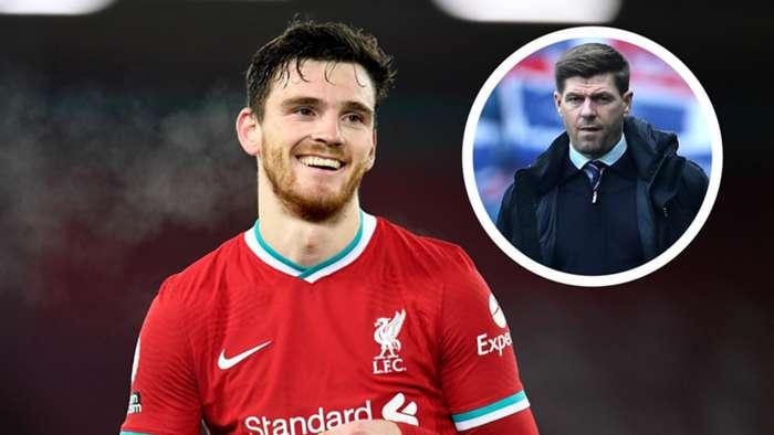 Andy Robertson Steven Gerrard