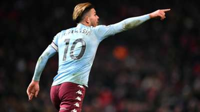 Jack Grealish Man Utd vs Aston Villa 2019-20