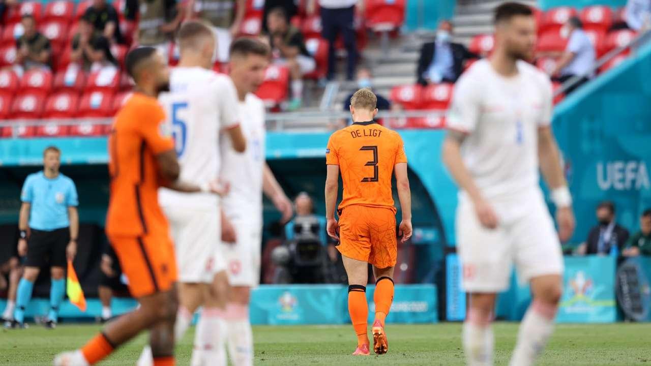 De Ligt Euro 2020 Netherlands Czech